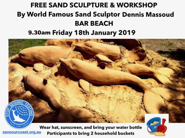bar beach sand scuptures 2019.001