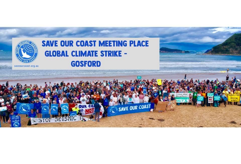 global climate strike in gosford